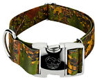 Country Brook Petz® 1 1/2 Inch Premium Southern Forest Camo Dog Collar