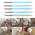 5pcs/Set 2 Way Pottery Clay Ball Tools DIY Sculpting Polymer Modelling Craft RS image