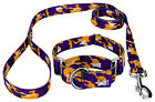 Country Brook Petz® Purple and Gold Camo Martingale Dog Collar and Leash