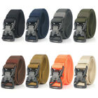 1 5 magnetic quick release buckle nylon webbing military tactical belt