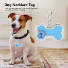 12 Style DIY Dog Collar Tag Disc Disk Pet ID Enamel Necklace Pendant Metal