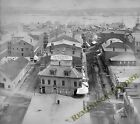 View looking down on buildings and harbor, Portland, ME 1898 Vintage  Reprint