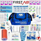 First Aid Kit Emergency Medical Bag FULLY STOCKED Family Travel Survival IFAK
