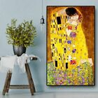 Classic Artist Gustav Klimt Kiss Abstract Oil Painting Canvas Art Wall Pictures