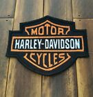 Patch Iron-On Harley-Davidson Logo Embroidered Applique Jacket $8.0 USD on eBay