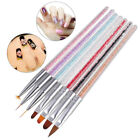 1Pc nail art gel design pen painting polish brush crystal drawing tool se CJ günstig