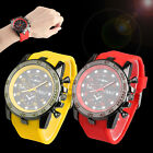 US Stainless Steel Luxury Sport Analog Quartz Modern Men's Fashion Wrist Watch