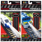 New Power City Trains Oval Track Pack 8+ Feet 14 PCS Age 4+