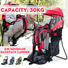 Kyпить Adjustable Baby Toddler Backpack Hiking Child Kid Carrier Shade Outdoor Red  на еВаy.соm