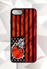 CLEVELAND BROWNS FLAG IPHONE 5 6 7 8 X PLUS (US SELLER) CASE FREE SHIPPING $15.95 USD on eBay