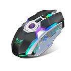 Wireless Gaming Mouse RGB Colors Backlit Mice+USB Receiver for MacBook/PC/Laptop