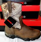 WOLVERINE COYOTE XTR INSULATED LEATHER BROWN/REAL TREE CAMO MEN'S BOOTS, W08053