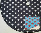 "Stars Print 26"" Slim Tree Skirt - All-American, Navy or Blue Red"