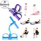 4-Tube Yoga Equipment Sit-up Fitness Foot Pedal Pull Rope Resistance Exercise image