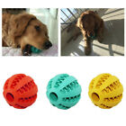 Feeding Indoor Outdoor Training Pet Rubber Watermelon Pattern Chew Dog Ball Toy