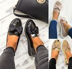 LADIES WOMENS GIRLS BLACK BOW SCHOOL WORK LOAFERS DOLLY PUMPS CHUNKY FLAT SHOES