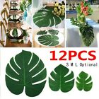 Lots Artificial Palm Leaves Hawaiian Theme Party Tablecloth Decoration Supply