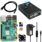 Raspberry Pi 4B 2/4 8GB RAM Basic Kit With Power Supply + Fan Case + micro HDMI