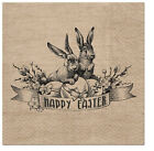 Quality 3-ply Easter Napkins Paper Decorative Easter Serviettes 33cm x 33cm
