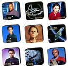 Star Trek: Deep Space Nine DSN Coasters - Ships - Wood Coasters - 4 For 3 Offer on eBay