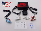 Внешний вид - Kicksmini Off-White Inspired AirPods BLACK Case w Lanyard Earbuds Stickers SETS