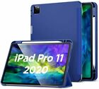 2020 Apple iPad Pro 11 Case Pencil Holder Smart Case Stand Cover Protector