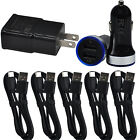 For Samsung Galaxy Note 10+ 9 8 S10e S8 Car Adapter Wall Charger USB Cable Cord