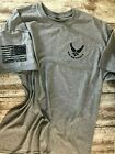 Air Force Military T-shirt With DD-214 Alumni USAF VIII 00 image