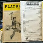 2 Newsies Playbills - Corey Cott / Tour Signed - Separate or Bundled!!