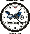 2014 VICTORY CROSS COUNTRY TOUR WALL CLOCK-FREE US SHIPPING