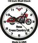 2014 VICTORY NESS CROSS COUNTRY LE WALL CLOCK