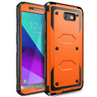 For Samsung Galaxy J7 2017 2018 Rugged Phone Hard Case Cover w/Belt Clip Holster
