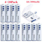 Lot 3000mAh AA Lithium 1.5V Ultimate Non-Rechargeable Lithium batteries + Box