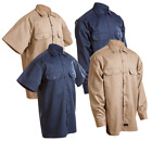 Kyпить Work Shirt Men's Navy Khaki Conqueror Mechanic Uniform Long Short Sleeve Button на еВаy.соm