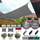 Kyпить Waterproof Sun Shade Sail UV Patio Outdoor Top Canopy Rectangle/Square Cover на еВаy.соm