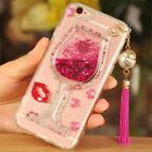Girls Rhinestones Glitter Dynamic Quicksand back soft Phone Case Cover for Nokia
