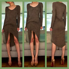 NWT Riller & Fount Edith Asymmetrical Ruched Midi Dress from Revolve 1 S M