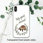 Sloth Is My Spirit Animal Sleeping Case Cover for iPhone Samsung Huawei Google