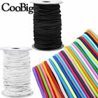 Dia.1 3mm Elastic Round Cord Stretch Rope Beading String Rubber Band Sewing