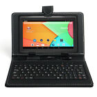 """New 7"""" Android Tablet & Keyboard Case Bundle - 16gb - Android 8.1 - Wifi"""