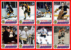 BOSTON BRUINS Retro Style 1977-78 Custom Made Hockey Cards U-Pick THICK $1.78 USD on eBay