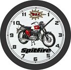 1966 BSA Spitfire Motorcycle Wall Clock-Free US Ship-Triumph, BMW, Honda $126.99 USD on eBay
