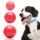 Pet Dog Ball Rubber elastic ball Bite Resistant training Chew Play Toy