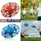 Anti collision Levitation Hand UFO Flying Aircraft Drone Toys LED Mini Induction