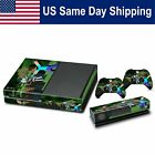 New Vinyl Skin Decal Stickers Covers Set for Xbox One Console & 2 Controllers
