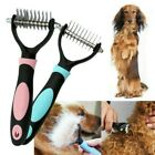 Pet Dog Fur Grooming Rake Comb Brush Tool Hair Shedding Blade Trimmer Home Decor