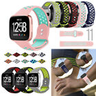 For Fitbit Versa 2 Lite Wristband Breathable Silicone Air Holes Watch Bands image