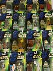 Star Wars POWER OF THE FORCE Action Figures, Green, Red, Tri-Logo - Your Choice