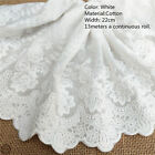 Floral Embroidery Cotton Vintage Lace Trim Ribbon Fabric Craft Sewing Applique