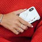 iDeal of Sweden Carrara Marble Gold Fashion Case for iPhone Xs Max / X / Xs / XR